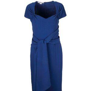 Stella Mccartney Amal Clooney Dress in Blue Note